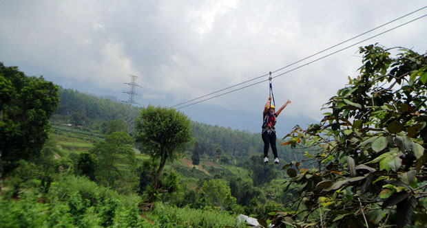 High Rope – Flying Fox